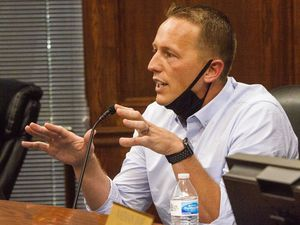 (Rick Egan  |  Tribune file photo) First-term Utah County Commissioner Tanner Ainge is resigning his seat. This file photo was taken July 15, 2020.
