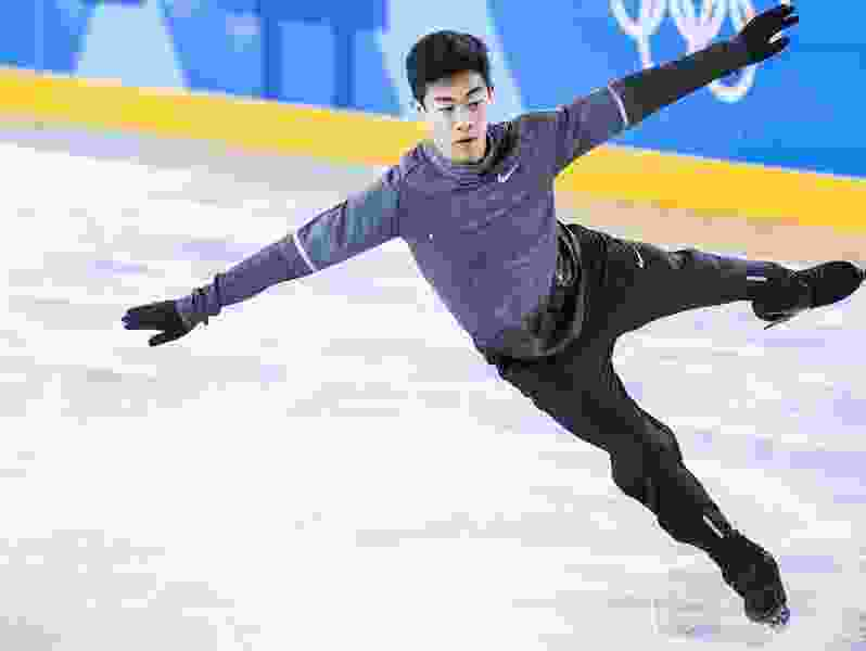 When not preparing for the Olympics, Nathan Chen cheers on surging Jazz