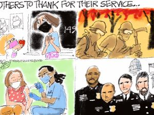 Look for the Helpers   Pat Bagley