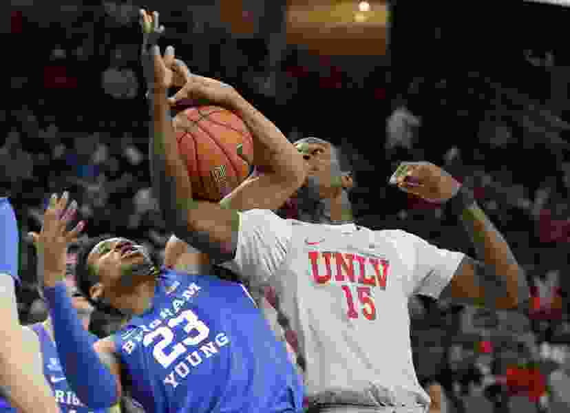 Buzzer-beating 3-pointer lifts UNLV over BYU, 92-90, in overtime