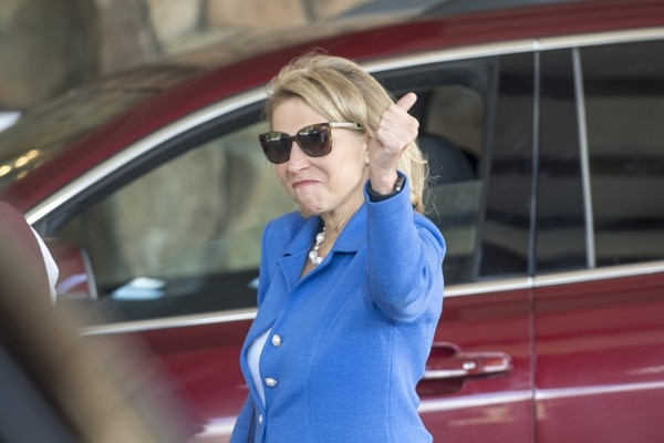 (David Paul Morris | Bloomberg) Shari Redstone, vice chairwoman of Viacom Inc., at the Allen & Co. Media and Technology Conference in Sun Valley, Idaho, on July 11.