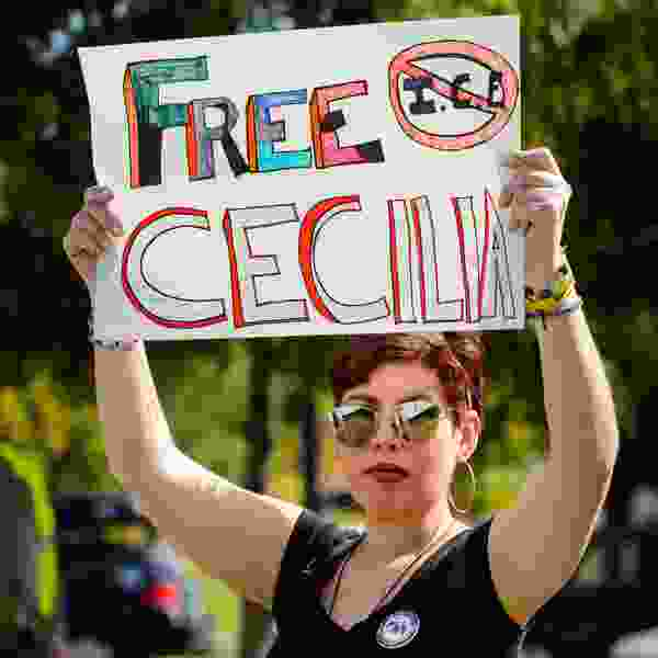 Immigration officials say Utah activist Cecilia Figueroa is now at large after failing to self-deport; friends say she is pursuing asylum