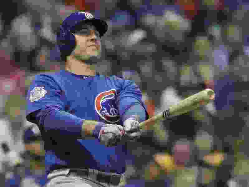 MLB roundup: Cubs beat Brewers 7-2 in 11 innings to move into first place