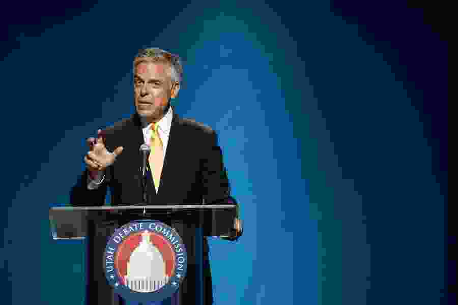 Jon Huntsman tests positive for the coronavirus, will continue his campaign for governor from home