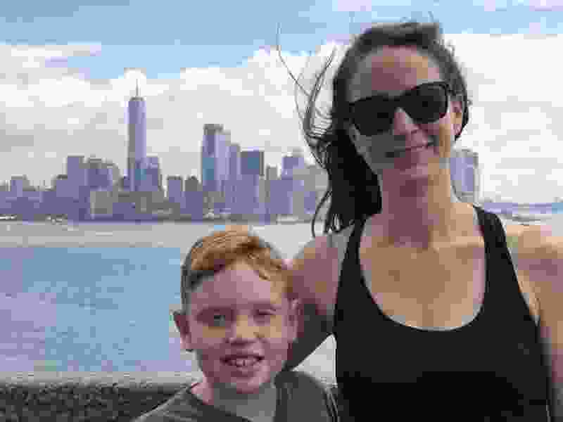 A trip to NYC, a chance to hold on tight to my little boy who still likes hanging out with Mom