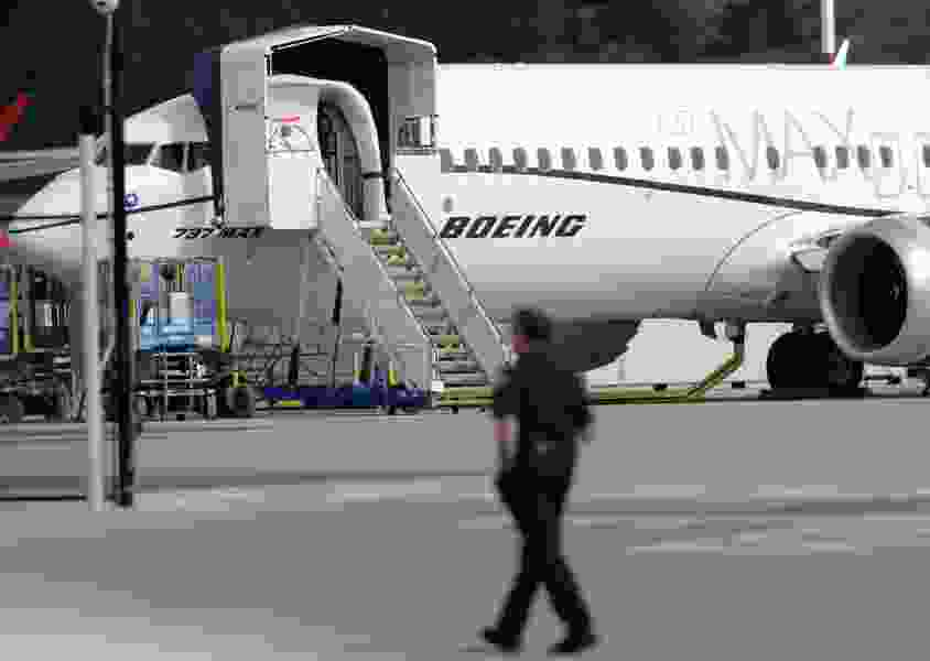 Justice Department opens investigation into development of Boeing Max jets