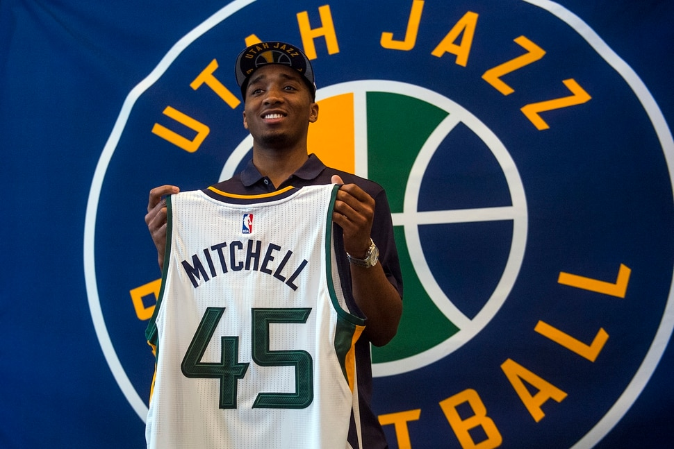 367337d2c98e Donovan Mitchell s impact on and off the court makes him the Most ...