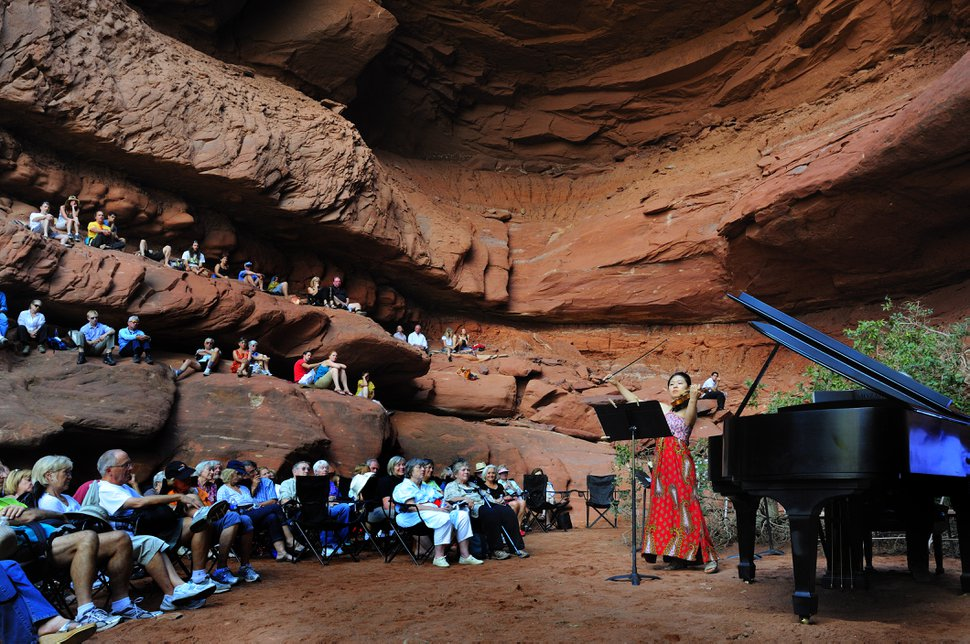 Richard Bowditch | Courtesy The Moab Music Festival returns for its 25th season this coming week.