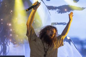 (Rick Egan  |  The Salt Lake Tribune)    Hippie Sabotage performs at the first concert of the summer's twilight concert series, at the Gallivan Center, Saturday, July 20, 2019.