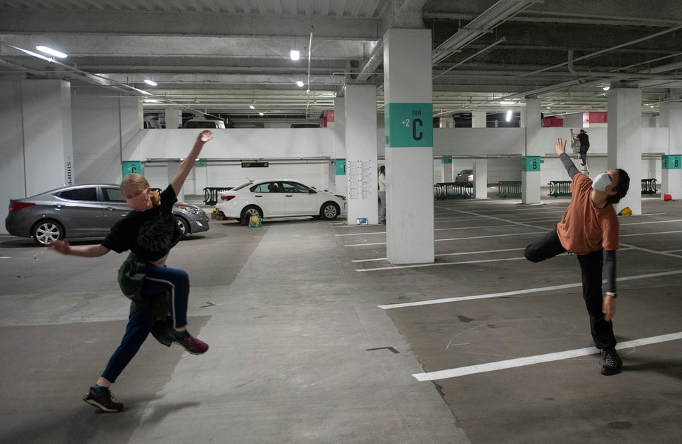 Covid 19 Rules Prompt Utah Theater Group To Perform Shakespeare In The Parking Garage The Salt Lake Tribune