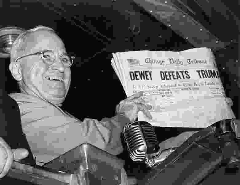 George Pyle: Where's our Harry Truman?