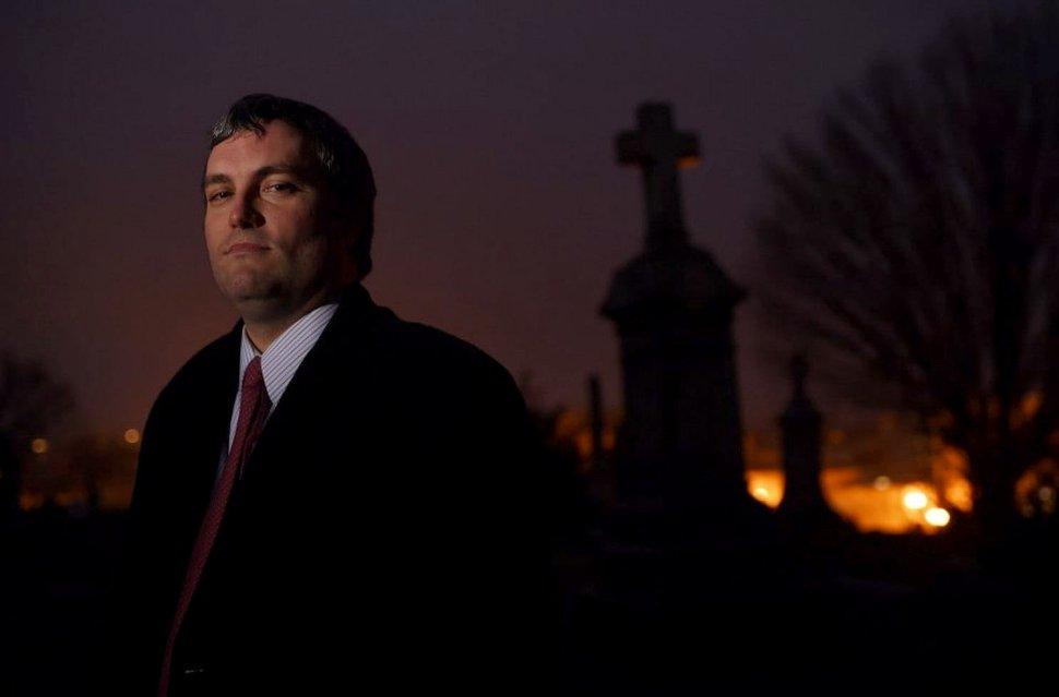 (Matt McClain | The Washington Post) Brett Talley in 2014.