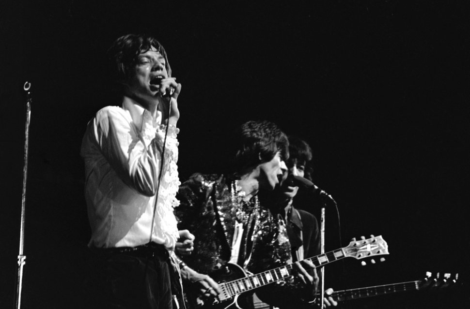 AP file photo From left, the Rolling Stones' Mick Jagger, Keith Richards, and Bill Wyman