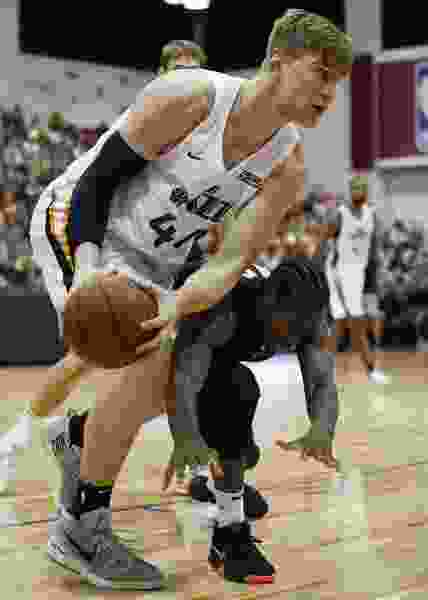 Once a valued commodity in the NBA, big men like Jazz summer league center Isaac Haas are trying to reposition themselves in a changing game