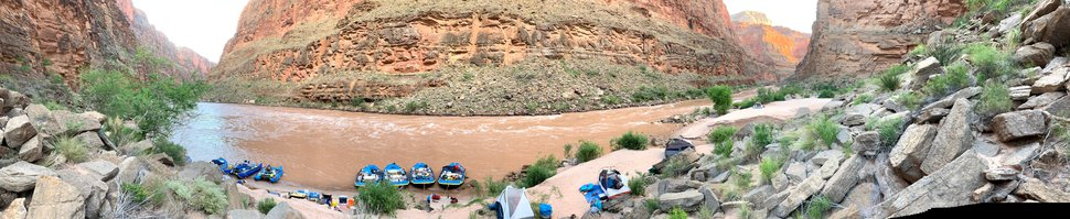 (Judy Fahys | InsideClimate News) Colorado River stakeholders have been experimenting with releases from Glen Canyon Dam to, among other things, improve the beaches that Grand Canyon river runners use for camping. Here at Olo Camp, sand beaches are monitored with the help of citizen scientists, with the broader aim of managing Colorado River water to the benefit of the environment, recreational users and water users.