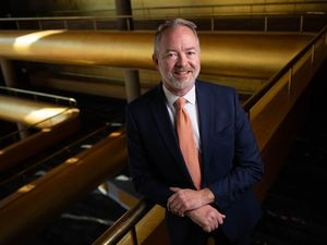 (Francisco Kjolseth     The Salt Lake Tribune) Steven Brosvik, named president and CEO of Utah Symphony   Utah Opera, is pictured at Abravanel Hall as the Utah Symphony prepares for its first concerts since the COVID-19 pandemic began. The first shows will feature the string section, no brass or woodwinds (because they can't play wearing masks), spaced far apart on the stage.