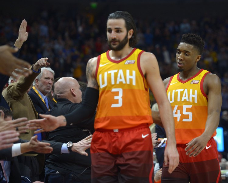 best loved 2be2f 4ec57 The Jazz have been waiting for Ricky Rubio to fit in. It ...
