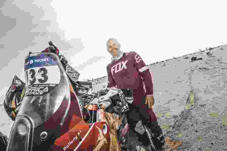 Ski Utah CEO Nathan Rafferty races motorcycles. Long distances. On distant continents. And he's pretty good at it.