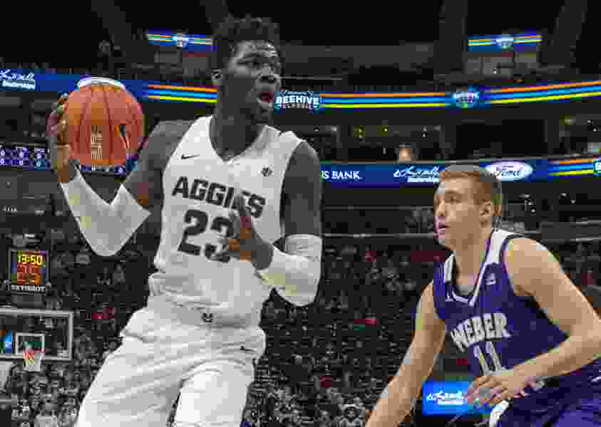 Utah State star Neemias Queta leaving Aggies after one season to chase NBA dream — though he does leave the door ajar for a possible return to Logan