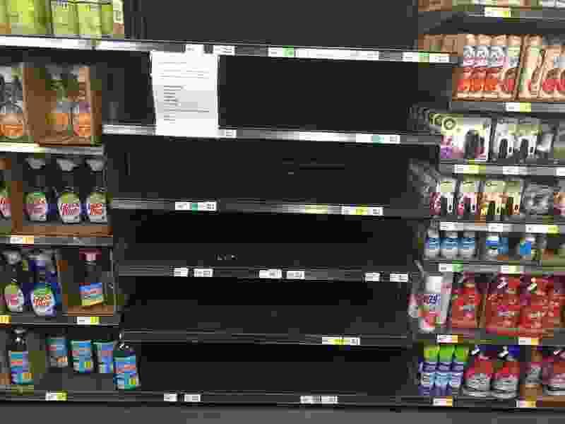 Empty shelves and long lines — a new symptom of coronavirus in Utah