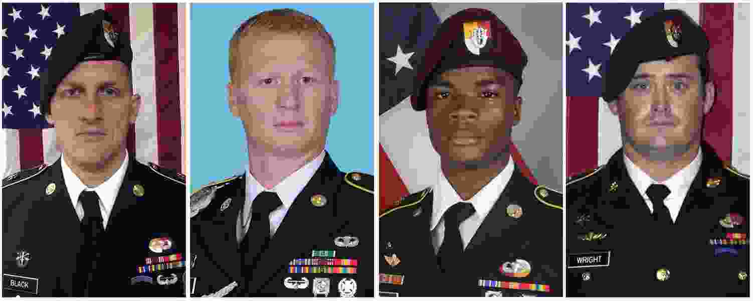 U.S. officials: 4th U.S. soldier dead after attack in Niger