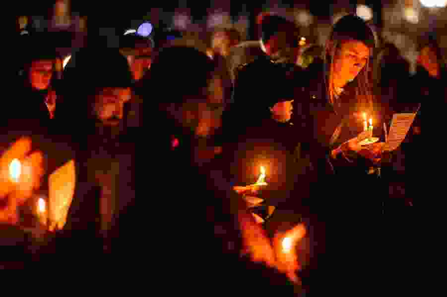 Annual Pioneer Park vigil mourns the 94 homeless people who died in Salt Lake City this year