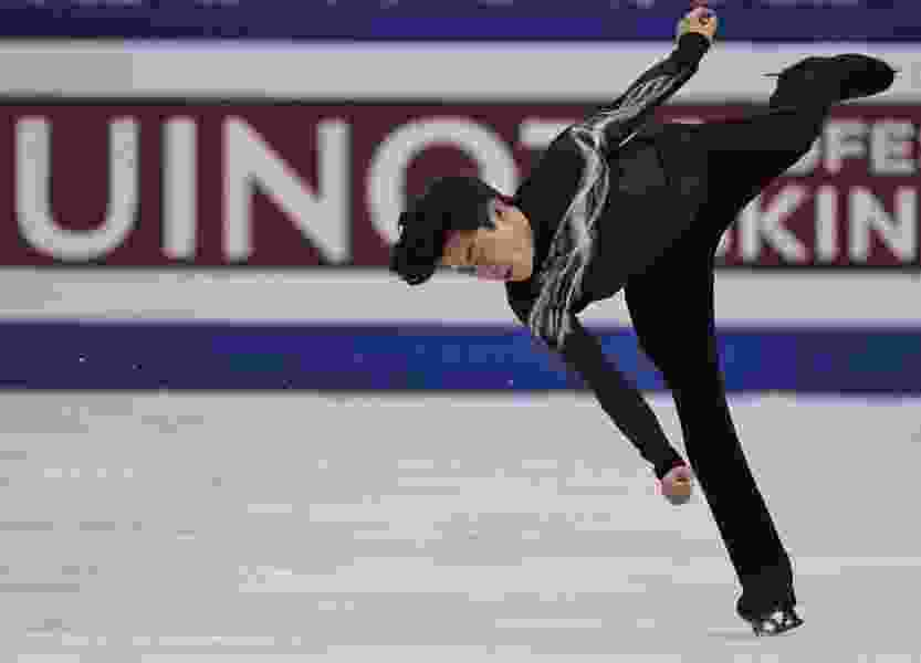Utahn Nathan Chen produces spectacular free skate to win gold at worlds