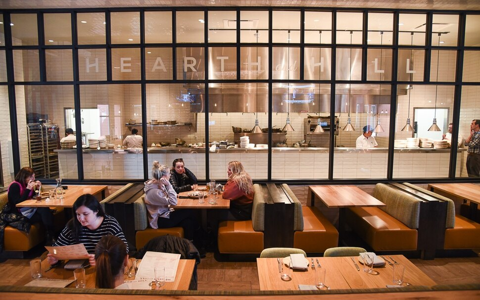 (Francisco Kjolseth | The Salt Lake Tribune) Hearth & Hill a new restaurant in Kimball Junction that serves upscale comfort food at 1153 Center Drive in the Newpark Retail Center is one of the new restaurants available to try before (or after) the Sundance Film Festival.