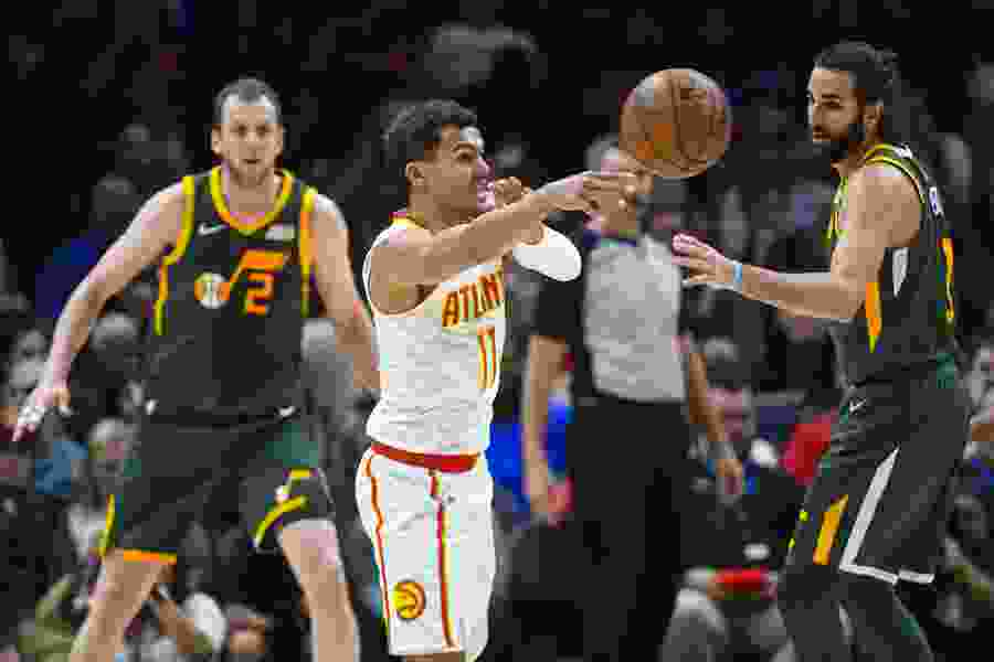 Trae Young — just like Donovan Mitchell a season ago — is impressing the NBA with the late stages of his rookie season