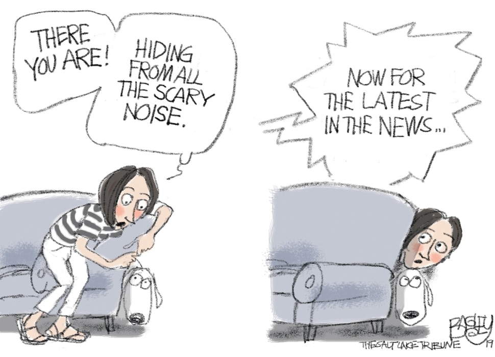 (Pat Bagley | The Salt Lake Tribune) This Pat Bagley cartoon, titled Pet Peeve, appears in The Salt Lake Tribune on Thursday, July 4, 2019.