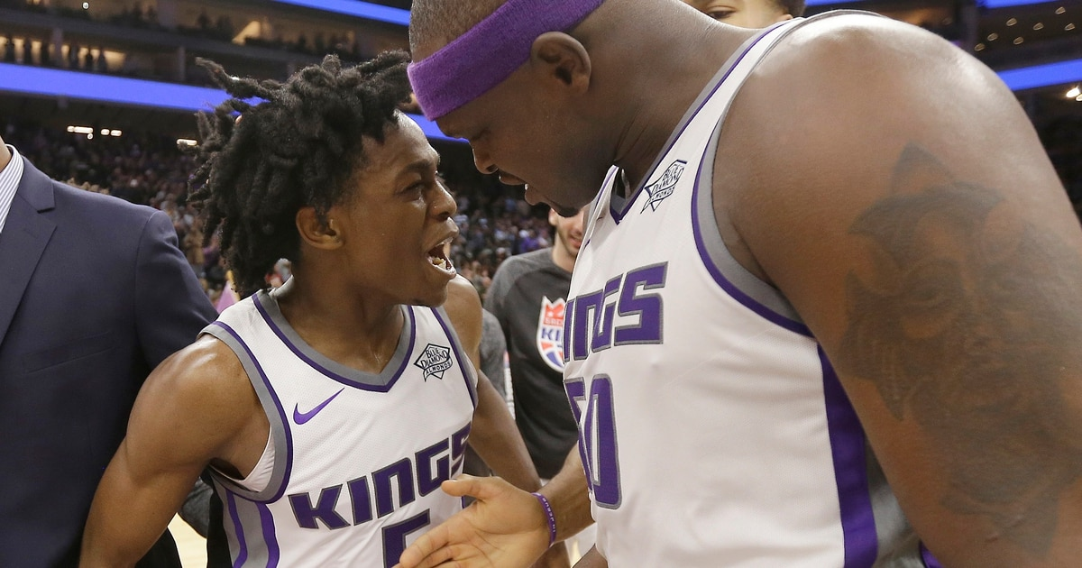 With a flick of his wrist, De'Aaron Fox ushered in a new era for the Sacramento Kings - The Salt ...