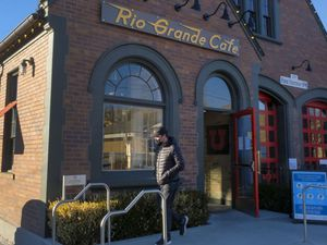 (Leah Hogsten  |  The Salt Lake Tribune) Salt Lake City's popular Rio Grande Cafe, which has been closed since March due to the pandemic and the earthquake, has moved to its new location near the University of Utah on 1300 East, Dec. 29, 2020.