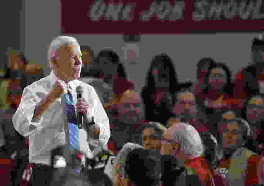 Letter: Biden should appear more presidential