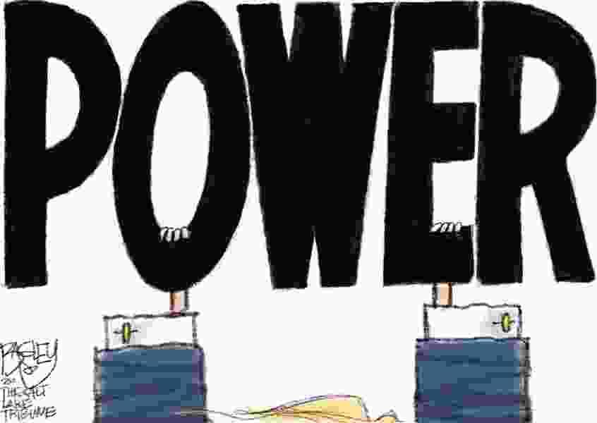 Bagley Cartoon: Power Grabber