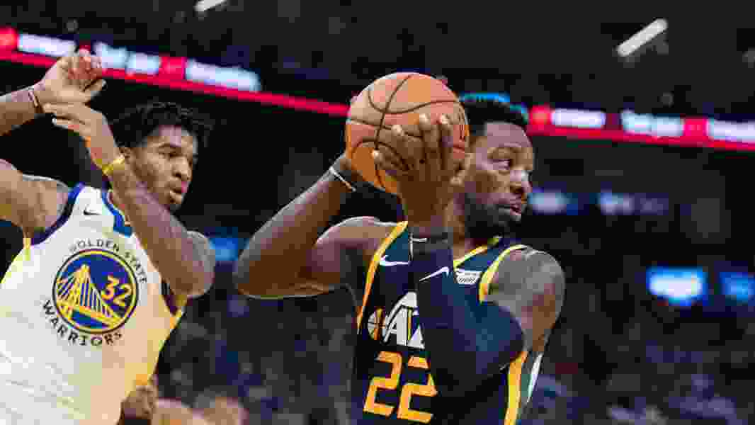 Jazz cruise past Warriors 122-108 at San Francisco's new Chase Center