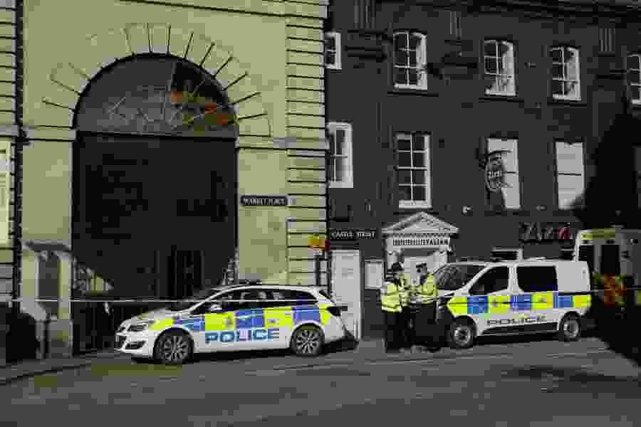 UK police: Russian ex-spy was attacked with nerve agent