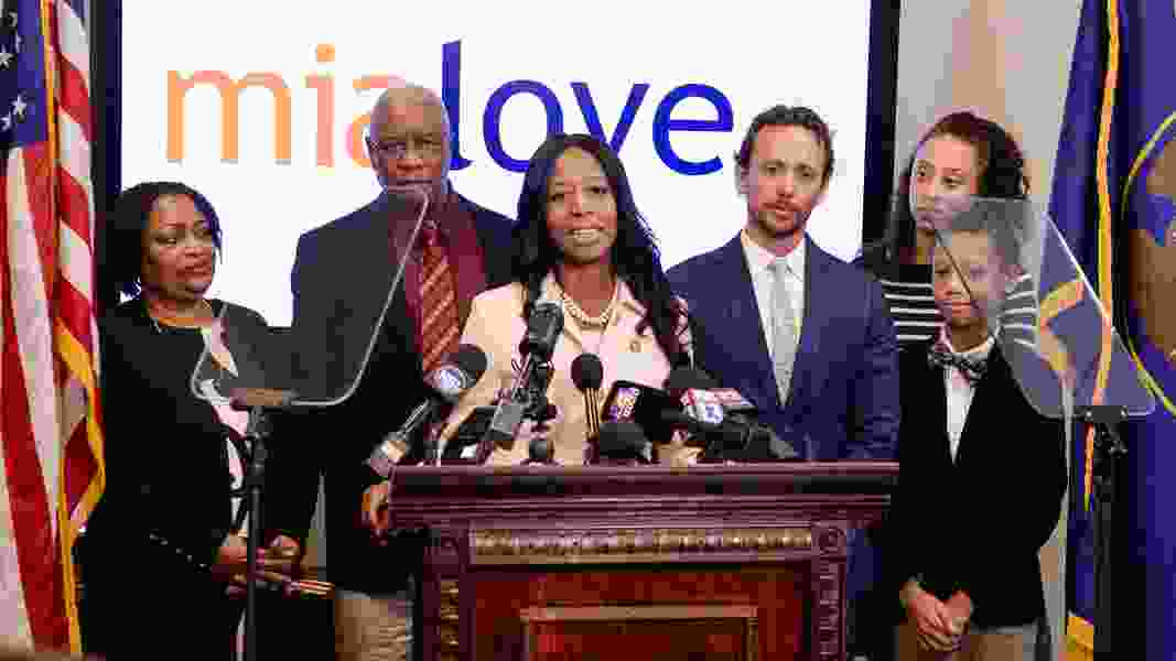Rep. Mia Love takes shots at Trump, McAdams and news media in her first public appearance since election loss