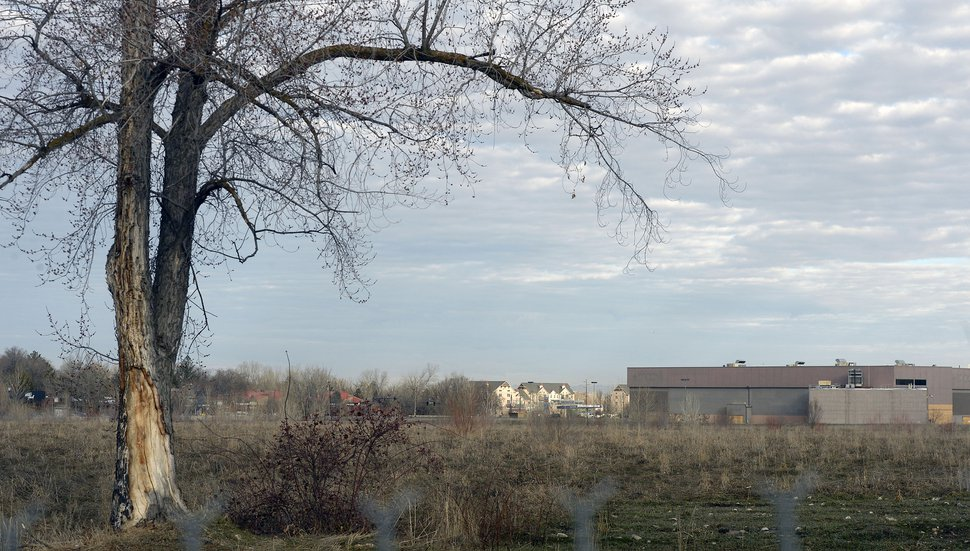 (Al Hartmann   The Salt Lake Tribune) View from the south looking north of the old Cottonwood Mall site near 4800 S. Highland Drive in Holladay on Tuesday March 13, 2018.