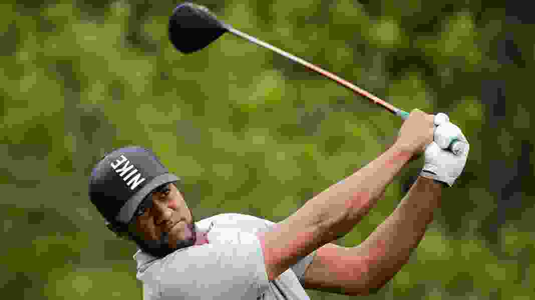 Utah's Tony Finau sticks around the British Open's top 10, despite a wobbly finish of his second round.