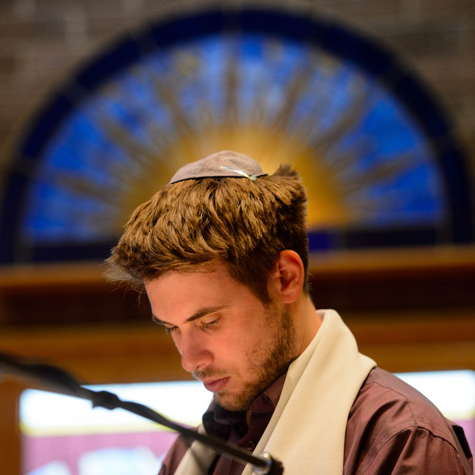 (Trent Nelson | Tribune file photo) Rabbi Samuel Spector at Congregation Kol Ami in Salt Lake City on Thursday, Oct. 3, 2019.