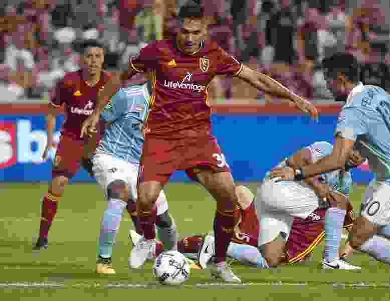 Real Salt Lake takes final stab at a playoff spot against rival Sporting KC