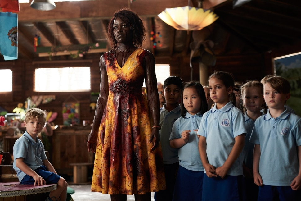 (Ben King | courtesy Sundance Institute) Lupita Nyong'o plays a kindergarten teacher protecting her students from a zombie infestation in director Abe Forsythe's horror-comedy Little Monsters, which will screen in the Midnight program of the 2019 Sundance Film Festival.