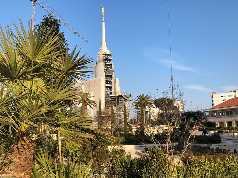 (Courtesy photo | The Church of Jesus Christ of Latter-day Saints) Construction on the Rome Temple is nearing an end. The church will host a free public open house for three weeks beginning Jan. 28, 2019.