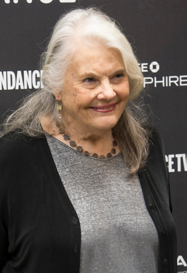Rick Egan | The Salt Lake Tribune Lois Smith, at the Ecceles Theatre for the premiere of