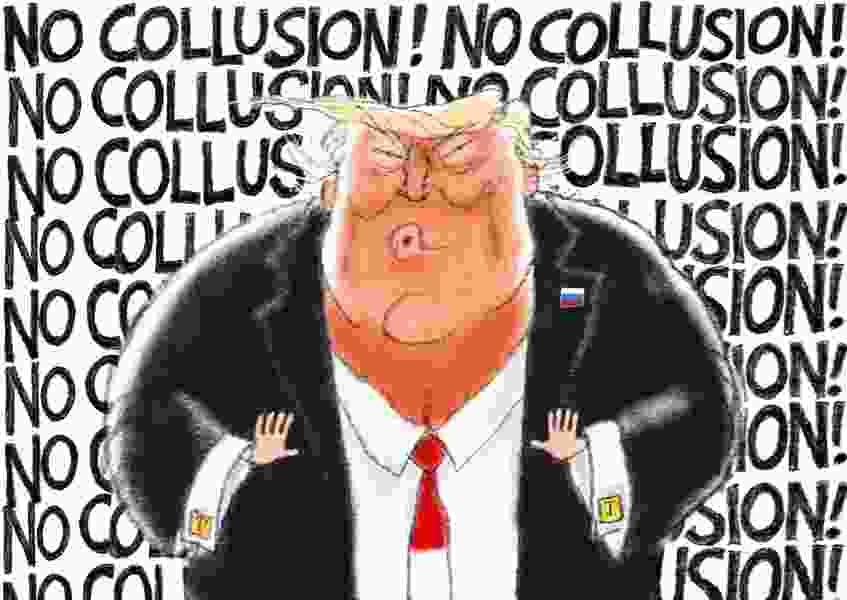 Bagley Cartoon: The Old White, Blue and Red