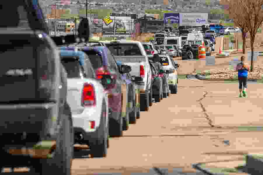 There's a virtual traffic jam for people needing a road test to get a Utah driver license