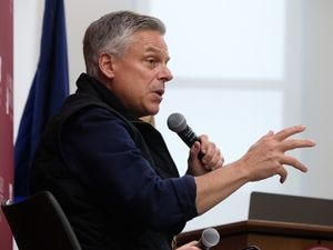 (Francisco Kjolseth  |  Tribune file photo)  Former Utah Gov. Jon Huntsman, as seen in Salt Lake City on Thursday, Dec. 5, 2019. Huntsman was named Thursday as chairman of World Trade Center Utah.