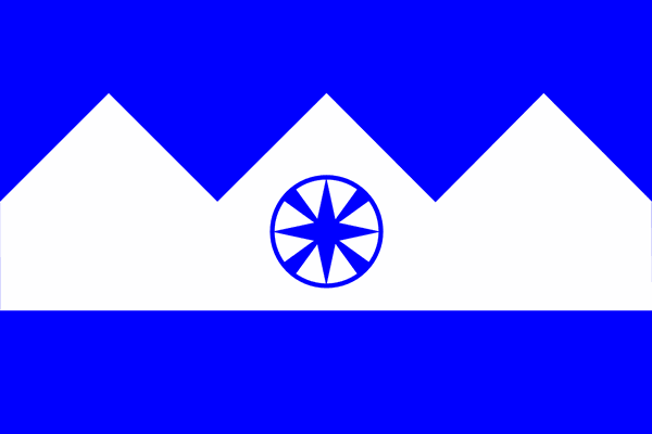 (Courtesy of Christophe Brosson) A proposed Salt Lake City flag designed by Christophe Brosson.