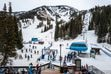 (Trent Nelson  |  The Salt Lake Tribune) Skiers at Snowbird on Friday, March 13, 2020.