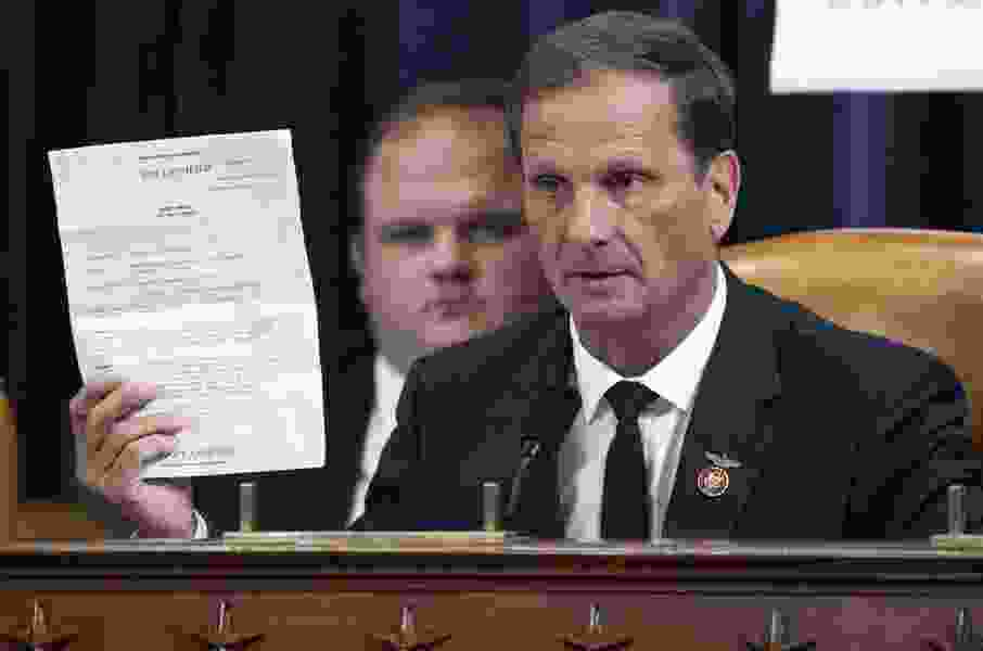 Robert Gehrke: Rep. Chris Stewart showed up to Trump impeachment hearings, but he didn't do himself or anyone else any favors